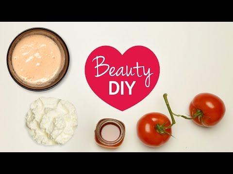 Anti Pickel Maske selber machen mit Tomate: Beauty DIY