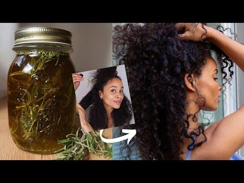 DIY Rosmarinöl + Hot Oil Treatment » Haarwuchs & Anti-Schuppen-Ölkur