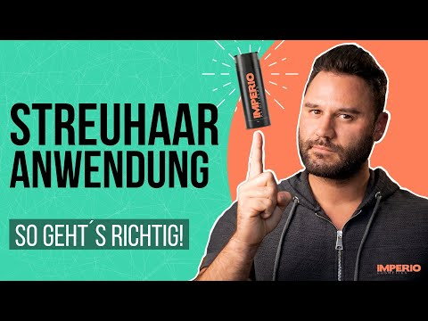 Streuhaar Anwendung - so geht´s richtig! (step by step erklärt)