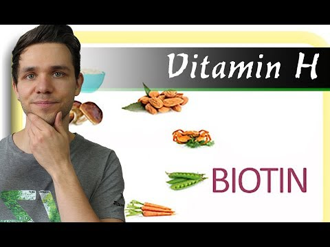 Haarausfall bei Biotin Mangel | Vitamin H