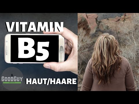 Vitamin B5 das Haarvitamin.Pantothensäure Vitalstoffkalender