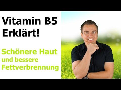 Vitamin B5 Mangel und Wirkung von Pantothensäure