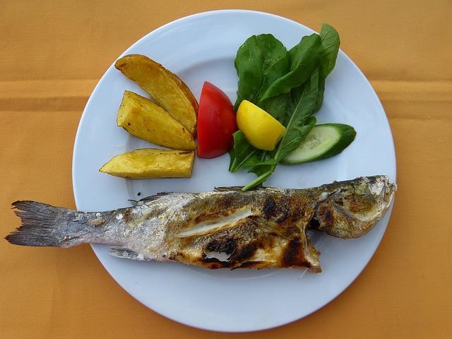 Fisch mit Omega Fettsäuren