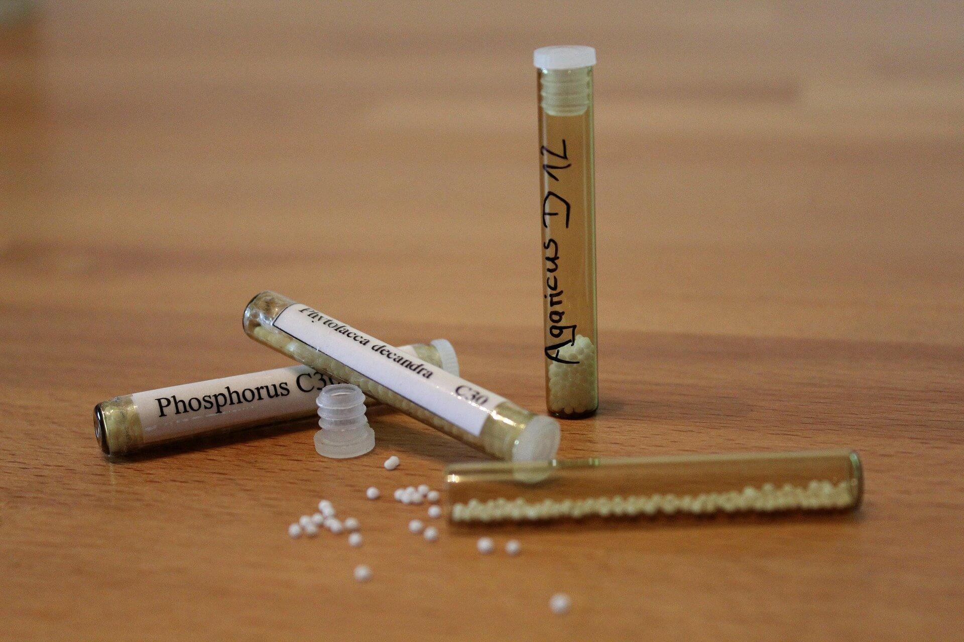 Homöopathie gegen Akne