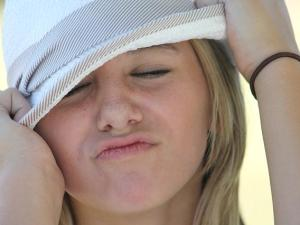 Mädchen Pupertät Hut