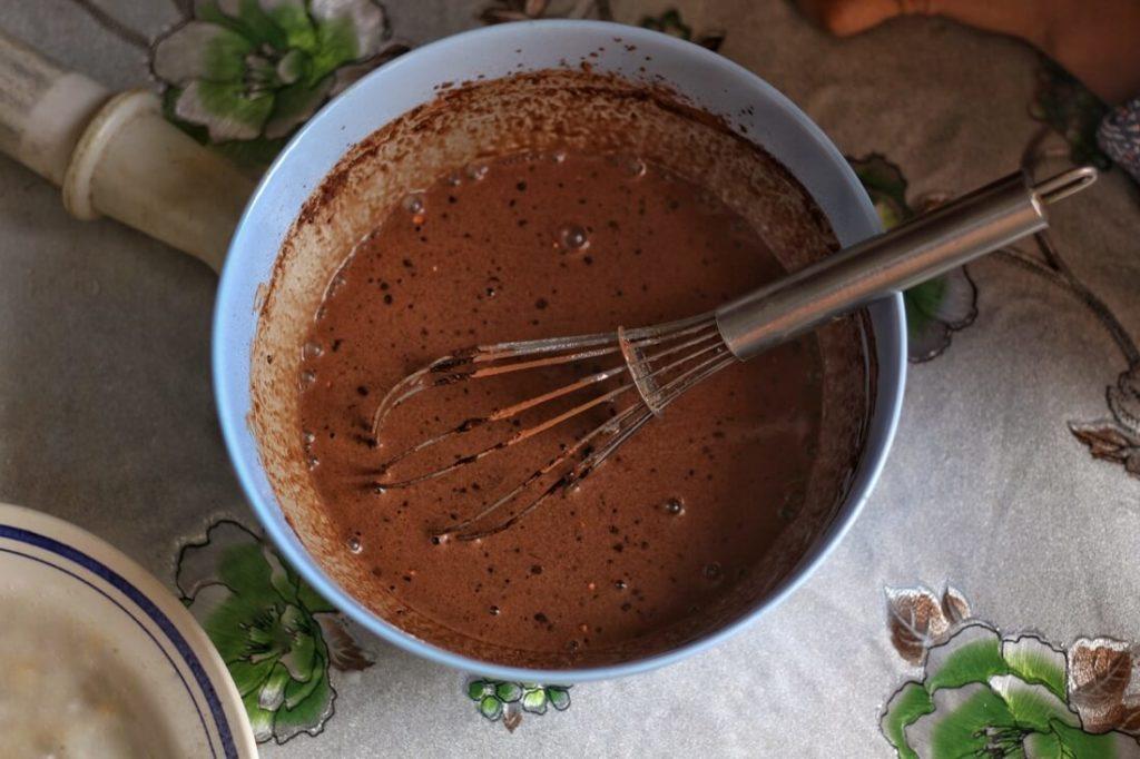 Schokoladenaufstrich mit Nüssen